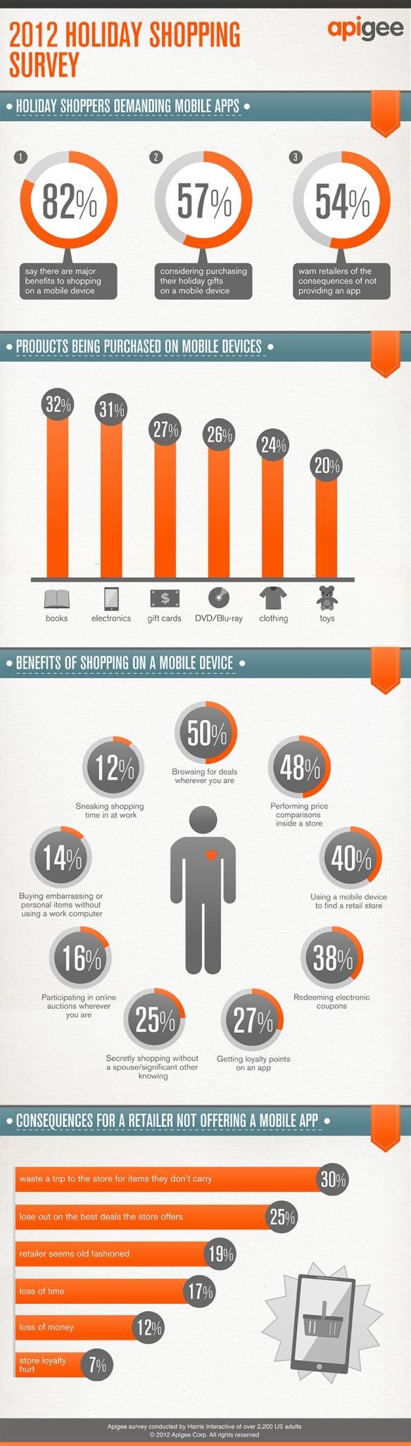 Mobile App Survey results